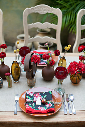 mexico destination wedding Mexico Destination Wedding Table Ideas