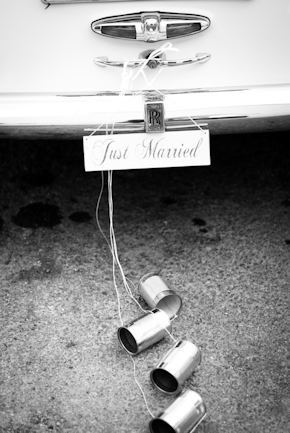 vintage wedding car1 Red + White Destination Wedding in Ibiza, Spain