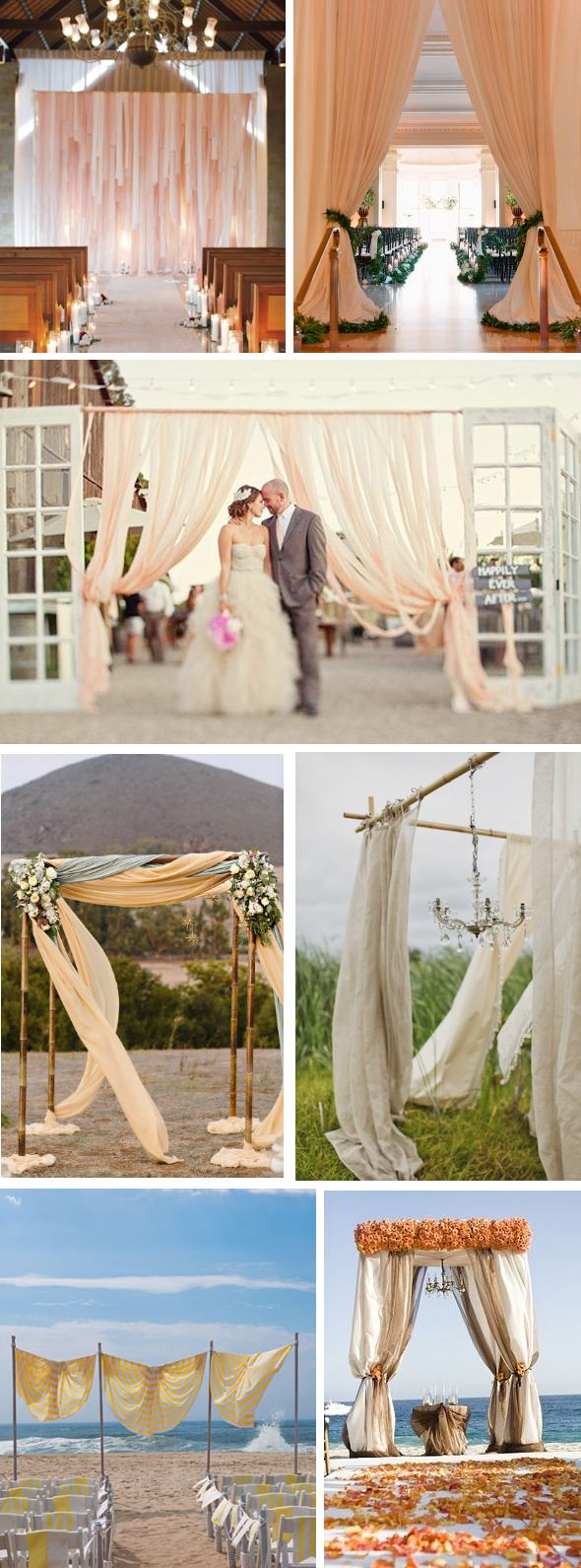 wedding ceremony arches