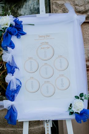 wedding seating chart Destination Wedding in Imperia, Italy
