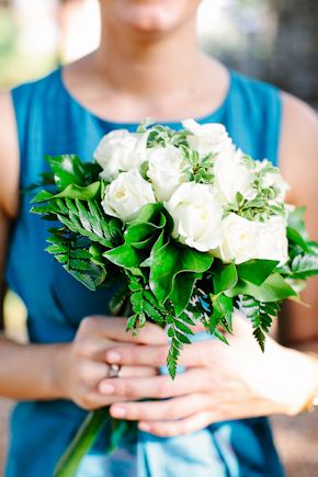white bridal bouquet Destination Wedding in Imperia, Italy