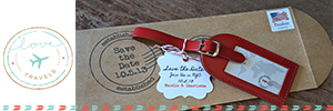 Love Travels Wedding Favors