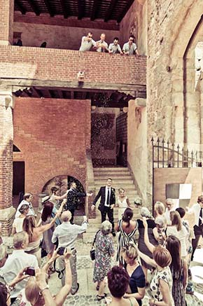 Marostica, Italy destination wedding
