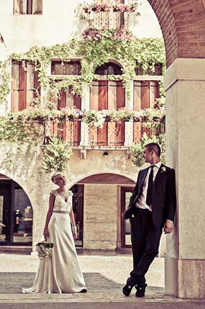 Marostica Italy wedding A Vintage Inspired Destination Wedding in Italy