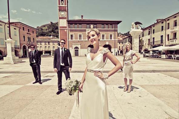 Marostica Italy weddings A Vintage Inspired Destination Wedding in Italy