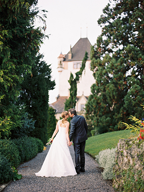 Switzerland destination wedding location A Sweet Elopement at a Castle in Switzerland