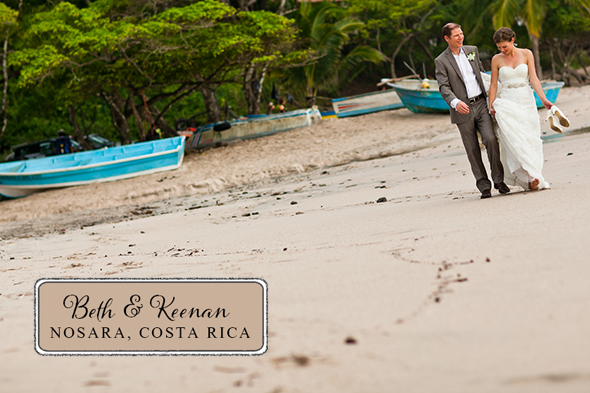costa rica destination wedding Costa Rica Destination Wedding by A Brit and A Blonde