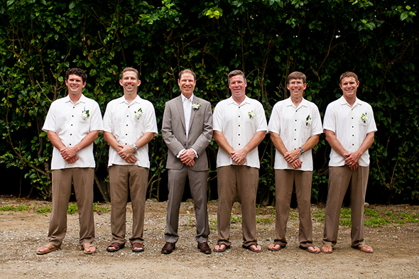 destination wedding groomsmen Costa Rica Destination Wedding by A Brit and A Blonde