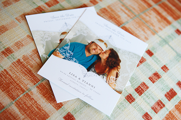 destination wedding paper details Traditional Destination Wedding in Greece