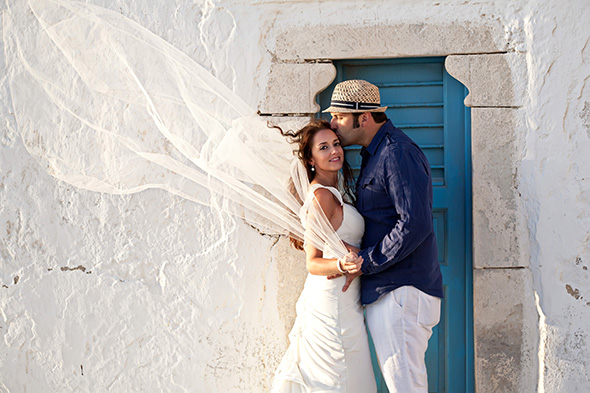 destination wedding photographer greece Traditional Destination Wedding in Greece