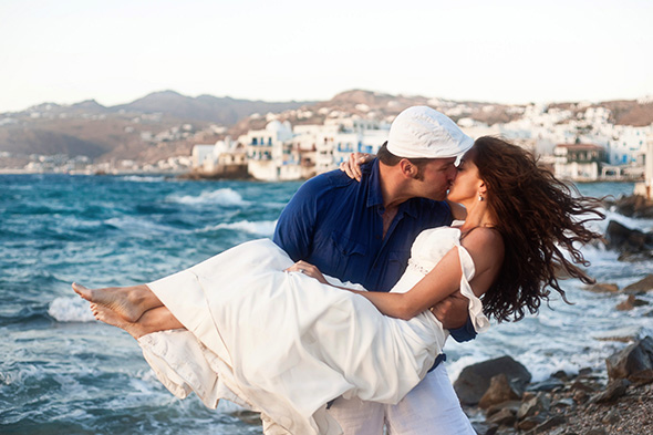 destination wedding photographer Traditional Destination Wedding in Greece
