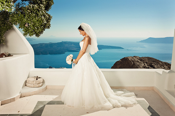 greek destination wedding Swanky Destination Wedding in Greece