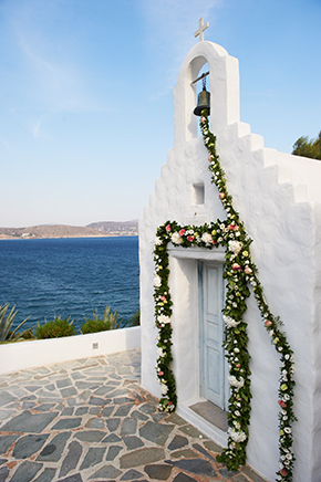 greek wedding chapels Traditional Destination Wedding in Greece