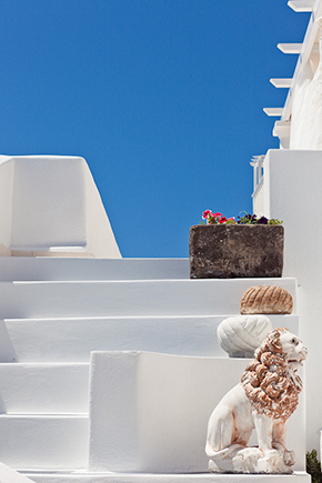 greek wedding location Swanky Destination Wedding in Greece