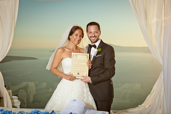greek weddings Swanky Destination Wedding in Greece