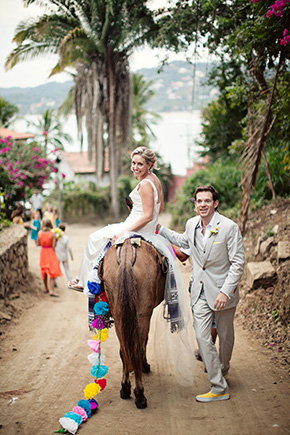 mexico wedding donkey ideas