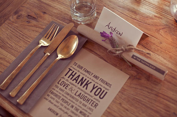 modern wedding paper goods