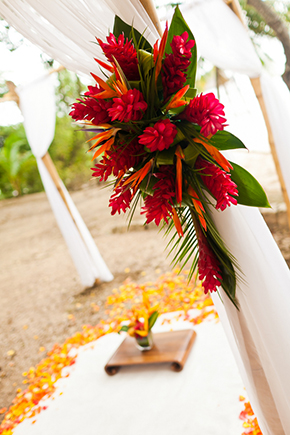 tropical wedding Costa Rica Destination Wedding by A Brit and A Blonde