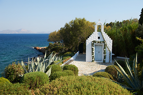 wedding chapels greece Traditional Destination Wedding in Greece
