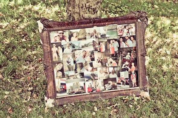 wedding photo collage A Vintage Inspired Destination Wedding in Italy