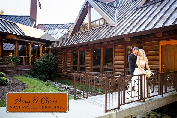 Nashville wedding locations A Rustic Destination Wedding in Nashville, TN