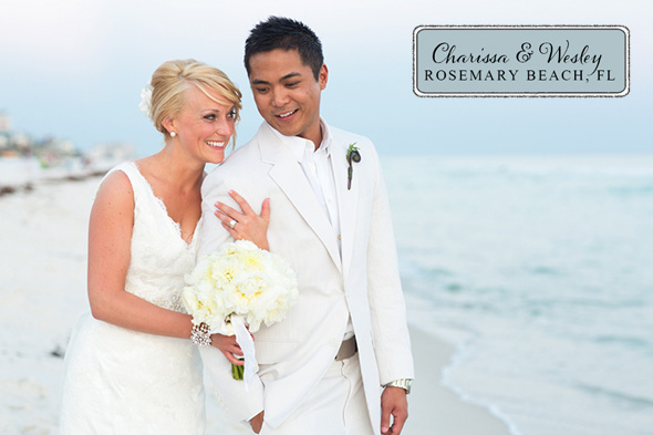 Rosemary Beach wedding locations A Modern Rosemary Beach, Florida Destination Wedding