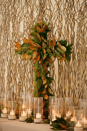 altar ceremony decor