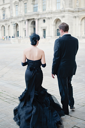 black weddings Paris Wedding Vow Renewal