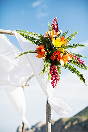 cabo wedding florist A Cabo, Mexico Destination Wedding by the Beach
