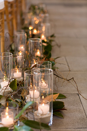 ceremony aisle flowers A Modern Rosemary Beach, Florida Destination Wedding