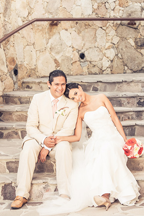 destination wedding2 A Colorful Destination Wedding in Los Cabos, Mexico
