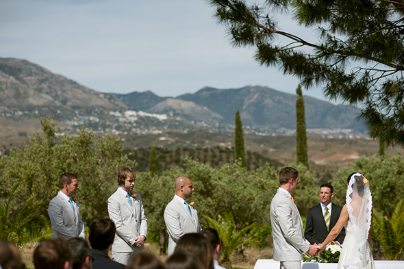 destination weddings spain A Colorful Destination Wedding in Malaga, Spain