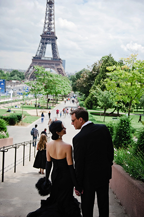 eiffel tower weddings Paris Wedding Vow Renewal