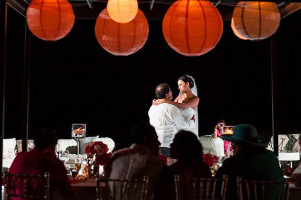 first dance song A Colorful Destination Wedding in Los Cabos, Mexico