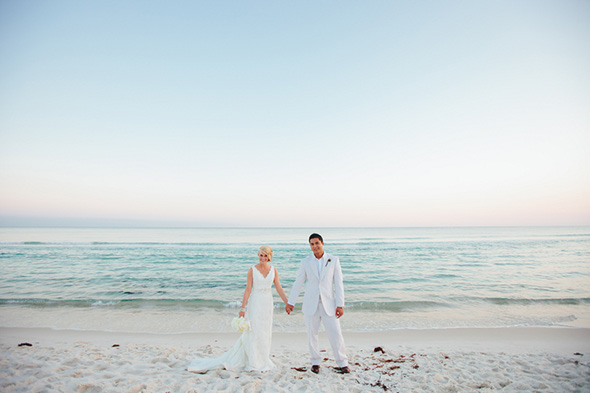 florida beach wedding A Modern Rosemary Beach, Florida Destination Wedding