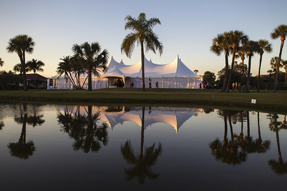 florida tent wedding
