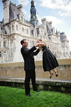 france destination wedding location Paris Wedding Vow Renewal