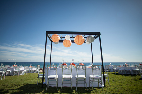 lantern weddings A Colorful Destination Wedding in Los Cabos, Mexico