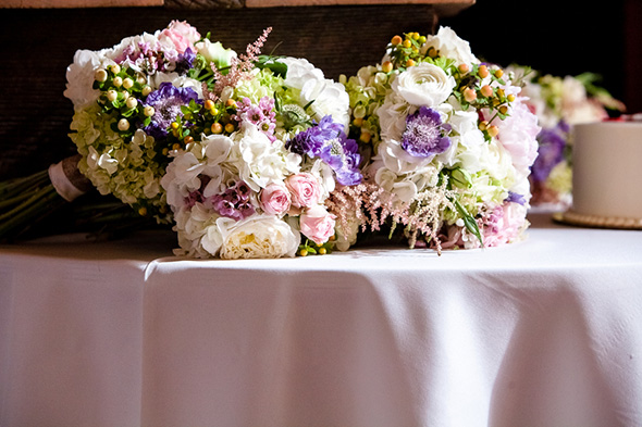 lavender wedding flowers A Rustic Destination Wedding in Nashville, TN