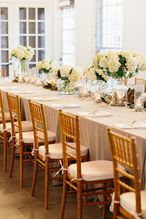 long wedding tables1 A Modern Rosemary Beach, Florida Destination Wedding