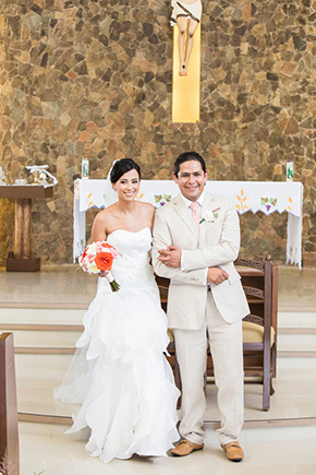 mexico destination wedding catholic ceremonies A Colorful Destination Wedding in Los Cabos, Mexico
