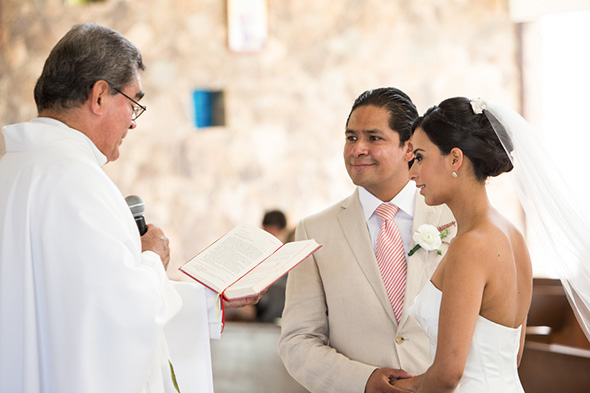 mexico destination wedding catholic ceremony