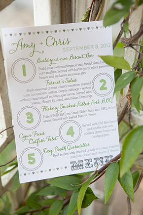 modern wedding invitation A Rustic Destination Wedding in Nashville, TN