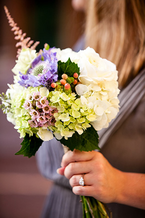 rustic bridal bouquet A Rustic Destination Wedding in Nashville, TN