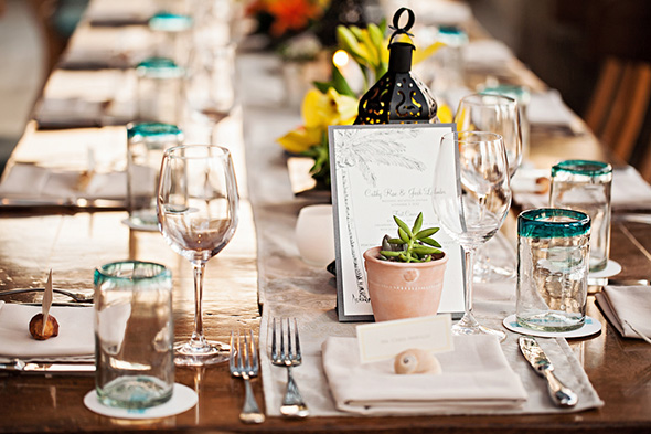 succulent weddings A Cabo, Mexico Destination Wedding by the Beach