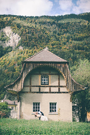 switzerland wedding A Swiss Elopement