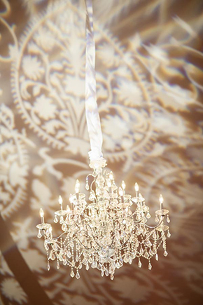 wedding chandeliers Tented Destination I Do in Florida