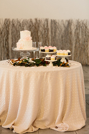wedding dessert bar A Modern Rosemary Beach, Florida Destination Wedding