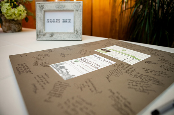 wedding guest books A Rustic Destination Wedding in Nashville, TN