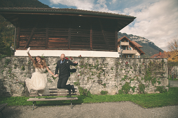 wedding location switzerland A Swiss Elopement